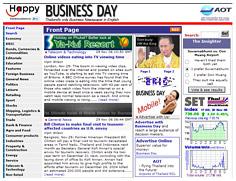 Click to view Business Day website